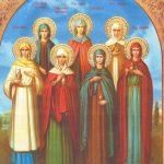 Святые русские женщины в православии