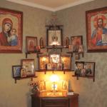 Где вешать иконы в доме?